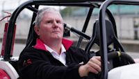 Meet the world's fastest blind car racer who is showing other disabled people how to race