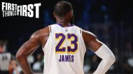 Nick Wright: LeBron James' persistence changes the narrative for younger NBA players like Kawhi & Kyrie | FIRST THINGS FIRST