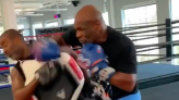 Video | Mike Tyson nukes coach in latest training footage | BJPenn.com