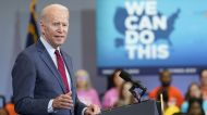 Biden pushes for more Covid vaccination and equity in North Carolina speech