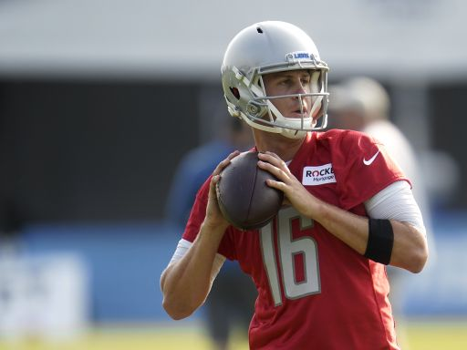 Go Deep! QB Jared Goff taking charge in Lions camp