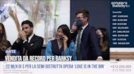 22 milioni di dollari per la semi distrutta opera 'Love is in the Bin' di Banksy