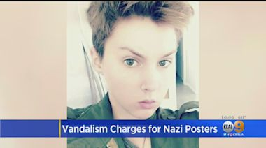 Vandalism Charges For Nazi Posters