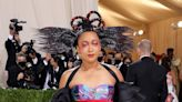 Naomi Osaka Arrives to Co-Chair the 2021 Met Gala in Bold Look Co-Designed by Her Sister