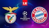 VER AQUÍ EN VIVO Benfica vs. Bayern Múnich HOY por la Champions League