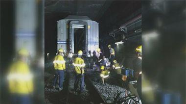 台鐵拖故障列車脫軌 搶修5hr影響近2萬人