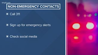 Call 311, not 911, during an earthquake non-emergency