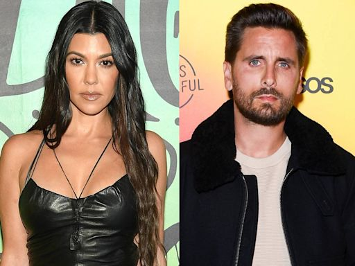 "Why Kourtney Kardashian and Scott Disick Are ""Barely Speaking"" Amid Her Romance With Travis Barker"
