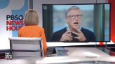 Bill Gates squirms as PBS' Judy Woodruff grills him on past ties to Jeffrey Epstein: 'Well, he's dead, so...'