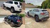 The Ultimate Toyota Off-Road SUV Suspension Flex Test