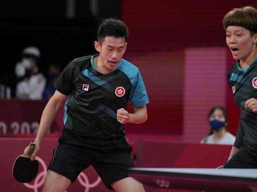 東京奧運.港隊最新|黃鎮廷杜凱琹乒乓混雙衝牌 歐鎧淳戰100背