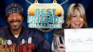 Best Friends Challenge with Snoop Dogg and Martha Stewart