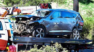 老虎伍茲車禍結案 超速肇事警方不起訴