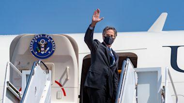 美國國務卿布林肯抵達烏克蘭展開訪問-國際在線