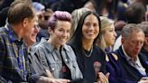 Megan Rapinoe and Sue Bird are locked in an embrace on the cover of GQ's 'Modern Lovers' issue