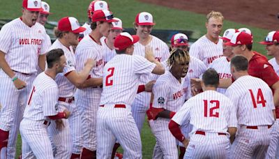 Here's how NC State moved to within one win of the College World Series final
