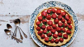La ricetta della torta alle fragole