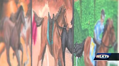 Louisville students scores box seats to Kentucky Derby after winning art contest