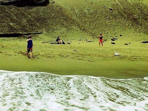 大自然的「傑作」盤點地球上各種顏色的沙灘