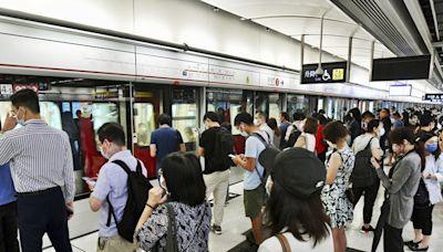 港鐵屯馬線列車服務一度受阻 現已復常