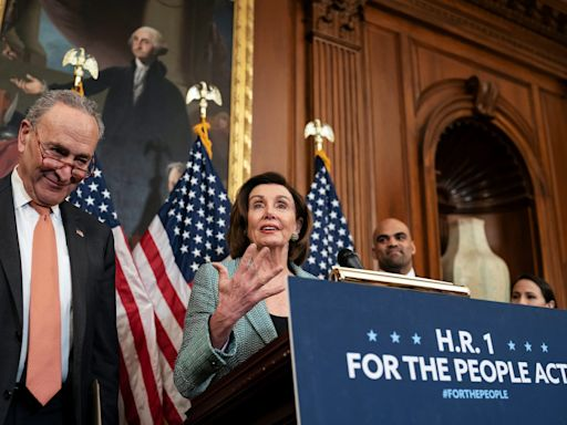 The US House passes H.R. 1, a major voting rights and campaign finance reform package