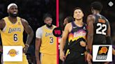 What channel is Lakers vs. Suns on tonight? Time, TV schedule, live streaming