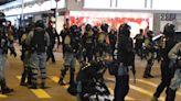 【修例風波】警方制服示威者 黃埔再有人堵路拆交通燈