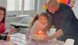 Dwayne Johnson celebrates daughter's 5th birthday with sweet family video