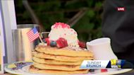 Sunday Brunch: Miss Shirley's Café celebrates the 4th with their Firework Pancakes