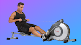 Get a full-body workout with this rowing machine on sale