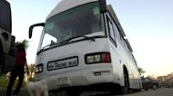 Egyptian saves rent by turning bus into tiny home