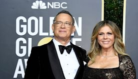 From Laughs to Tears as Tom Hanks Accepts Golden Globes' DeMille Award