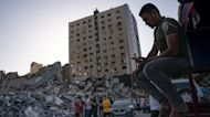 Residents In Israel And Gaza Survey Damage