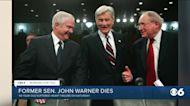 Former Senator John Warner dies at age 94