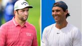 Rafael Nadal le ganó un partido de golf a Jon Rahm