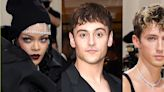 Rihanna Told Tom Daley to Take a Photo of Troye Sivan Using the Bathroom at the Met Gala – See the Pic!