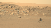 Mars Helicopter Zooms Past Its First Mile Marker During 10th Flight!