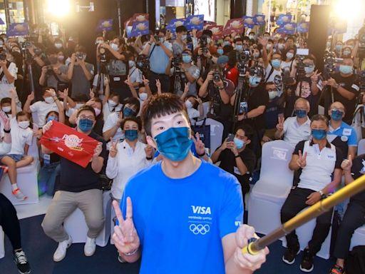 劍神張家朗東京奧運奪金後首次公開亮相 於希慎以Visa簽帳贈奧運主題禮品 | 港生活 - 尋找香港好去處