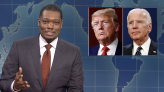 "'SNL': Michael Che Jokes About NBC Trump Town Hall On Weekend Update: ""What Can We Say We Have A Type"" WATCH"