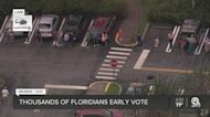 Lines spotted at some early-voting locations in Palm Beach County