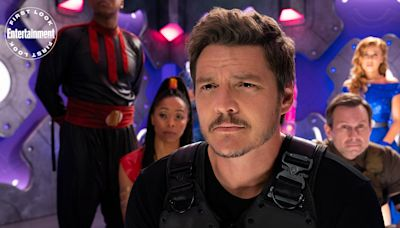 Pedro Pascal and Christian Slater are superheroes in Netflix's We Can Be Heroes first look