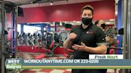 Workout Anytime in Lexington is open 24 hours a day, 7 days a week