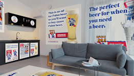 PBR Will Pay You to Put Up Beer Ads in Your Home