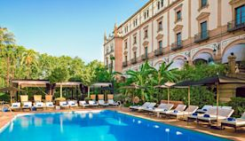 The best luxury hotels in Seville, from historic palacios with opulent interiors to amazing rooftop pools