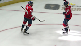 a Goal from Washington Capitals vs. Boston Bruins