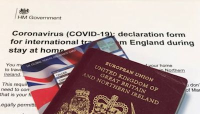 Declaration to Travel: government reveals new 'exit permit' required to leave England