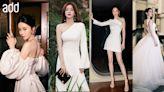 add名人時尚|7位女星穿白裙 秦嵐性感露肩VS 文詠珊至hit 馬甲 | 蘋果日報
