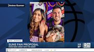 Suns fan proposes to girlfriend in Nash jersey