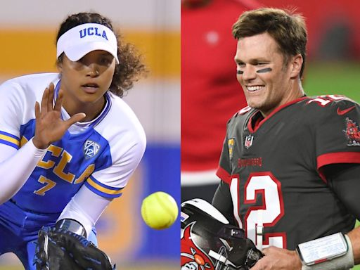 Tom Brady praises UCLA softball star Maya Brady as 'by far' the most dominant athlete in their family after niece hits home run