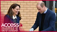 Kate Middleton & Prince William Share A Laugh While Potting Plants Together During Royal Outing